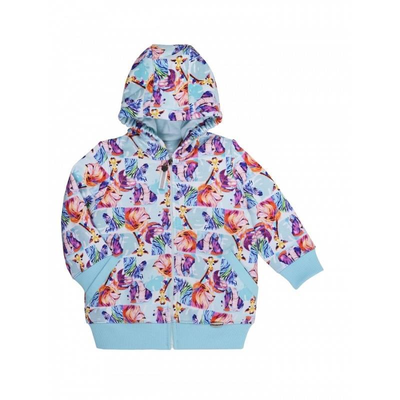 Куртка Мамуляндия, цв. голубой, 80 р-р