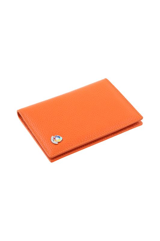 Обложка для автодокументов Fiora More F020-050-47 оранжевая фото