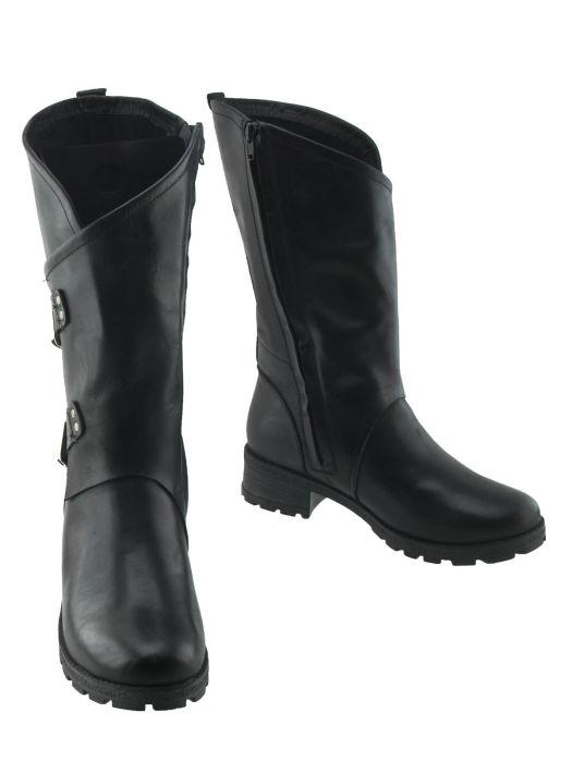 Сапоги женские Podio 70053-G18-1-1 черные 36 RU