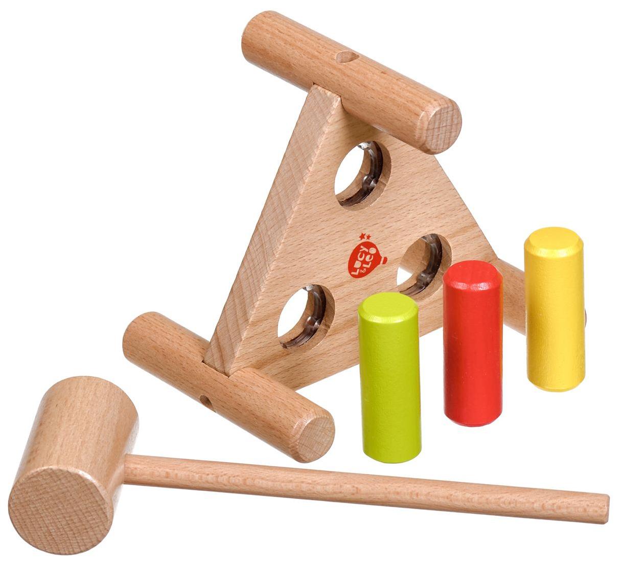 Деревянная игрушка-стучалка \