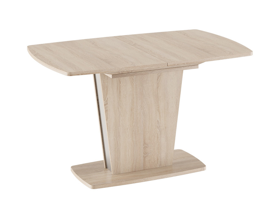 Обеденный стол ТриЯ Ливерпуль Стол обеденный Дуб Сонома / Металлик, Средний