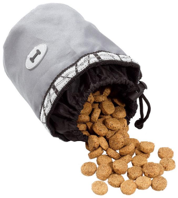 Мешочек для лакомств Ferplast Treats Bag, черно