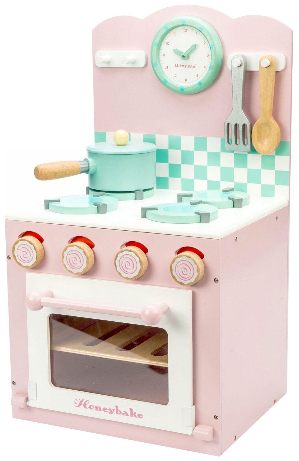 Игровой набор Кухонная плита розовая