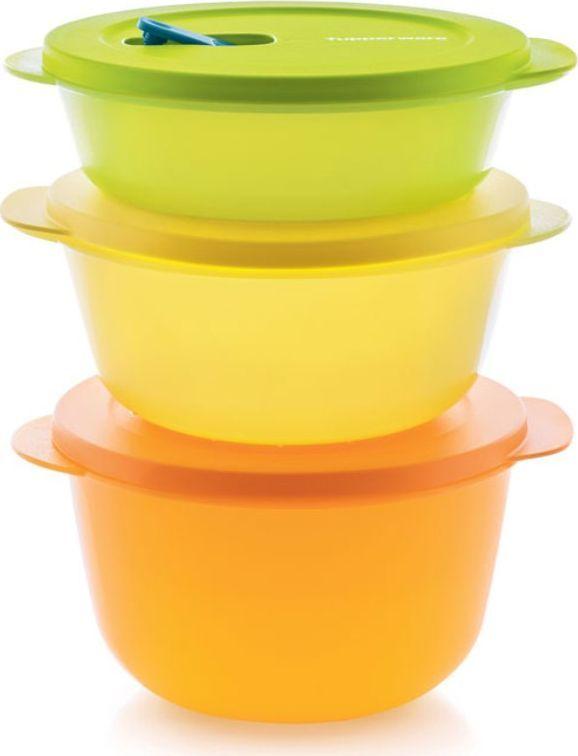 Посуда для СВЧ Tupperware Новая волна 1л/1,5л/2л
