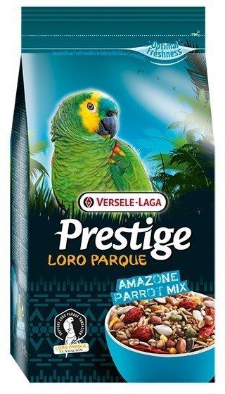 Основной корм для попугаев Versele-Laga Prestige Amazone Parrot Loro Parque Mix, 15 кг