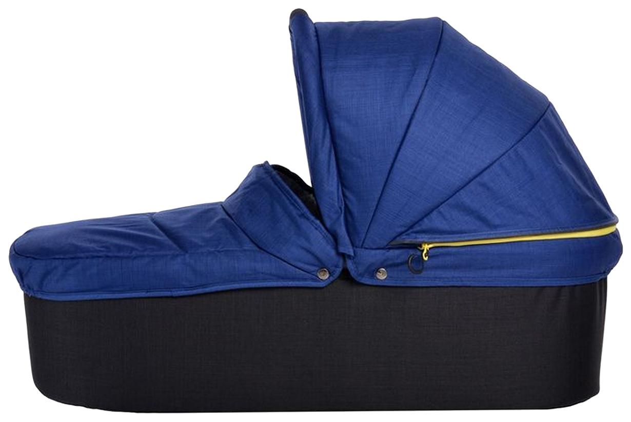 Купить Люлька для коляски TFK QuickfiX Twin (ТФК Твин) Tap DuoX Carrycot Twilight Blue T-45-333,