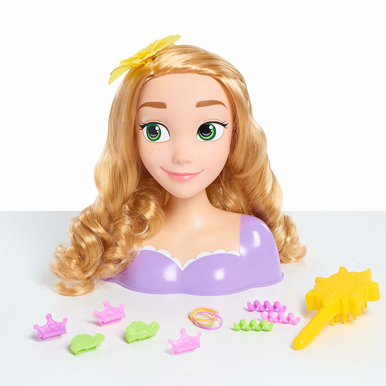 Купить Игровой набор Disney Princess Голова для причесок Рапунцель 87155,