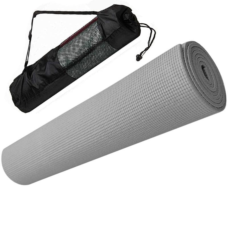 Коврик для йоги Hawk E29256 серый