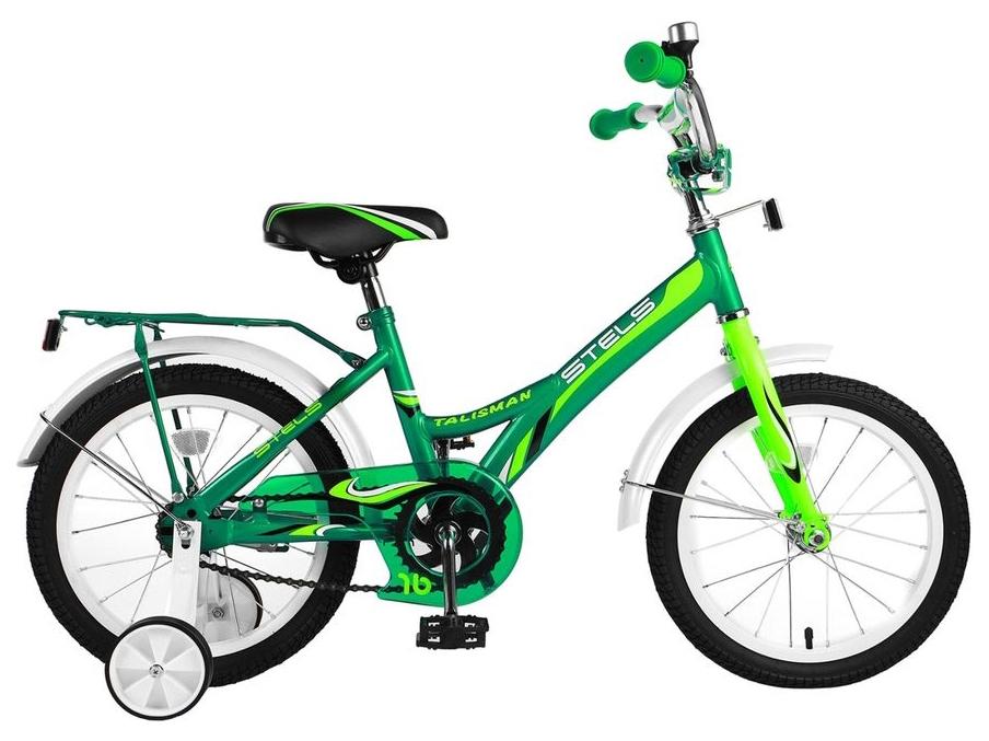 Велосипед детский двухколесный Stels Talisman 18 Зеленый