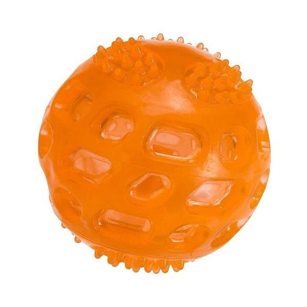 Жевательная игрушка для собак Ferplast мяч, оранжевый,
