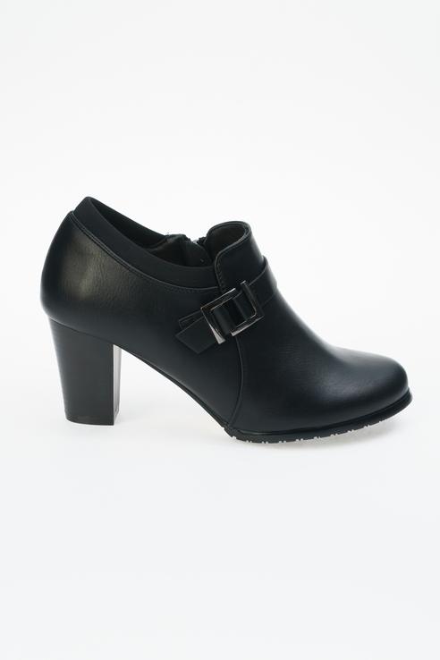 Туфли женские INSTREET 2-33WN-023SS черные 38 RU фото