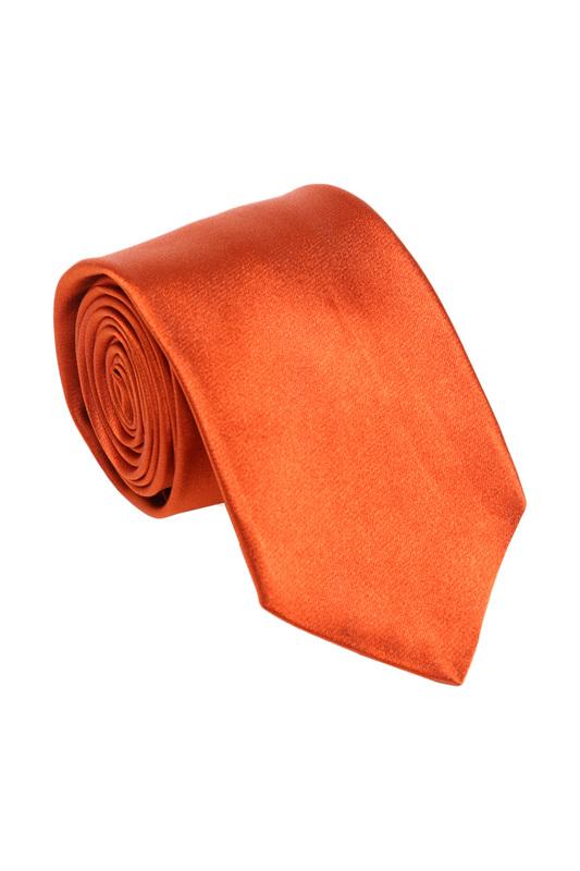Галстук мужской Ascot 3031 оранжевый