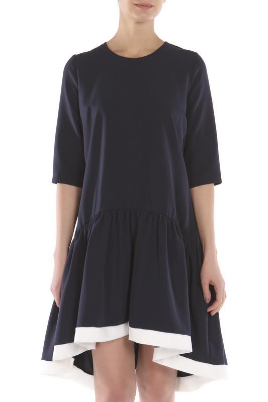 Платье женское Nuova Vita 2159.01 синее 46 RU фото