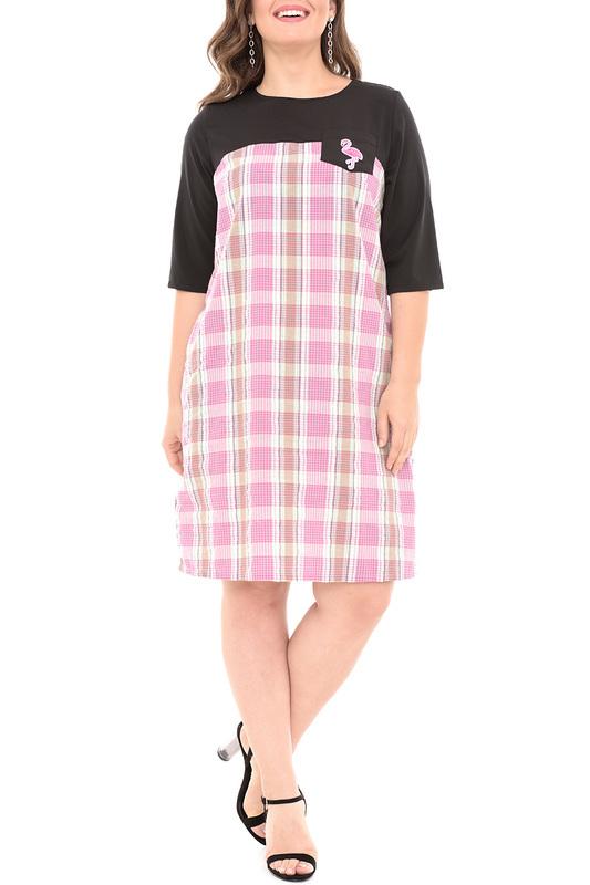 Платье женское SVESTA R704NOROS черное 56 RU фото