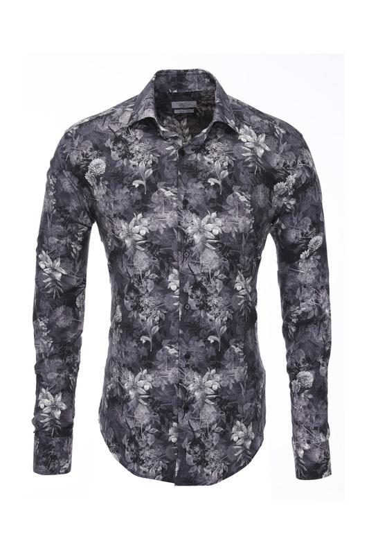 Рубашка мужская BAWER RZ1412065-02 зеленая M