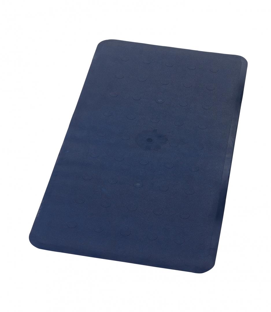 Коврик противоскользящий Basic синий 36*71, Aqm