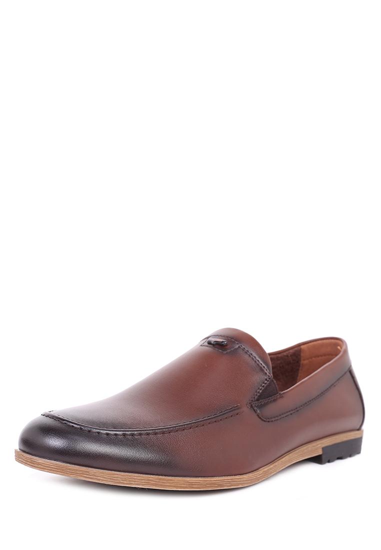 Мокасины мужские T.Taccardi 710017781 коричневые 45 RU