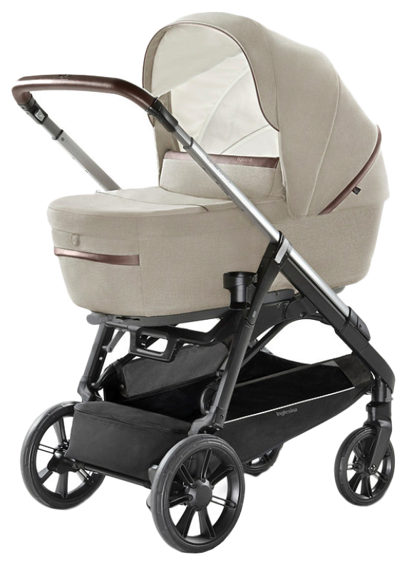 Купить Коляска 4 в 1 Inglesina Aptica System Quattro на шасси Aptica Black Coffee Cashmere Beige, Коляски для новорожденных
