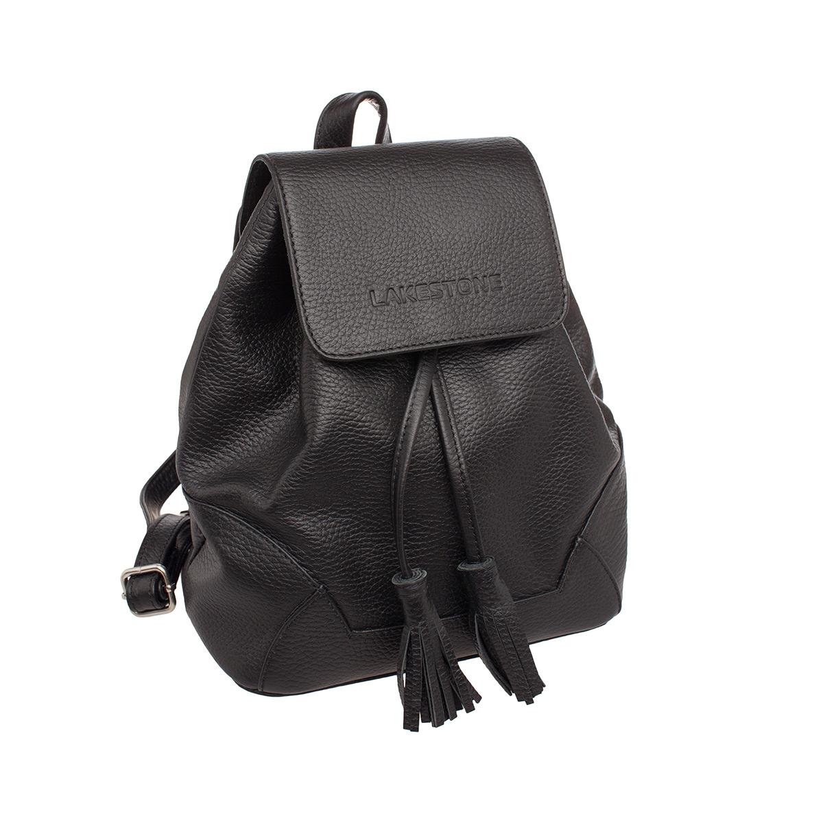 Рюкзак женский кожаный Lakestone 9123417/BL фото