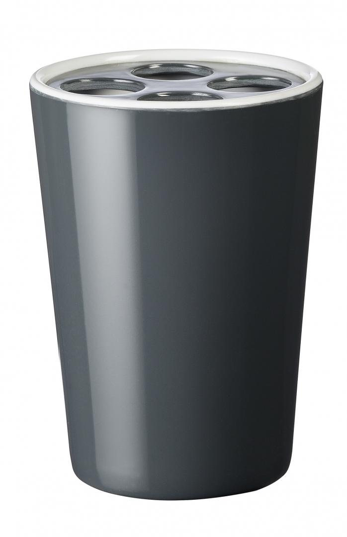Стаканчик для з/щетки Fashion серый