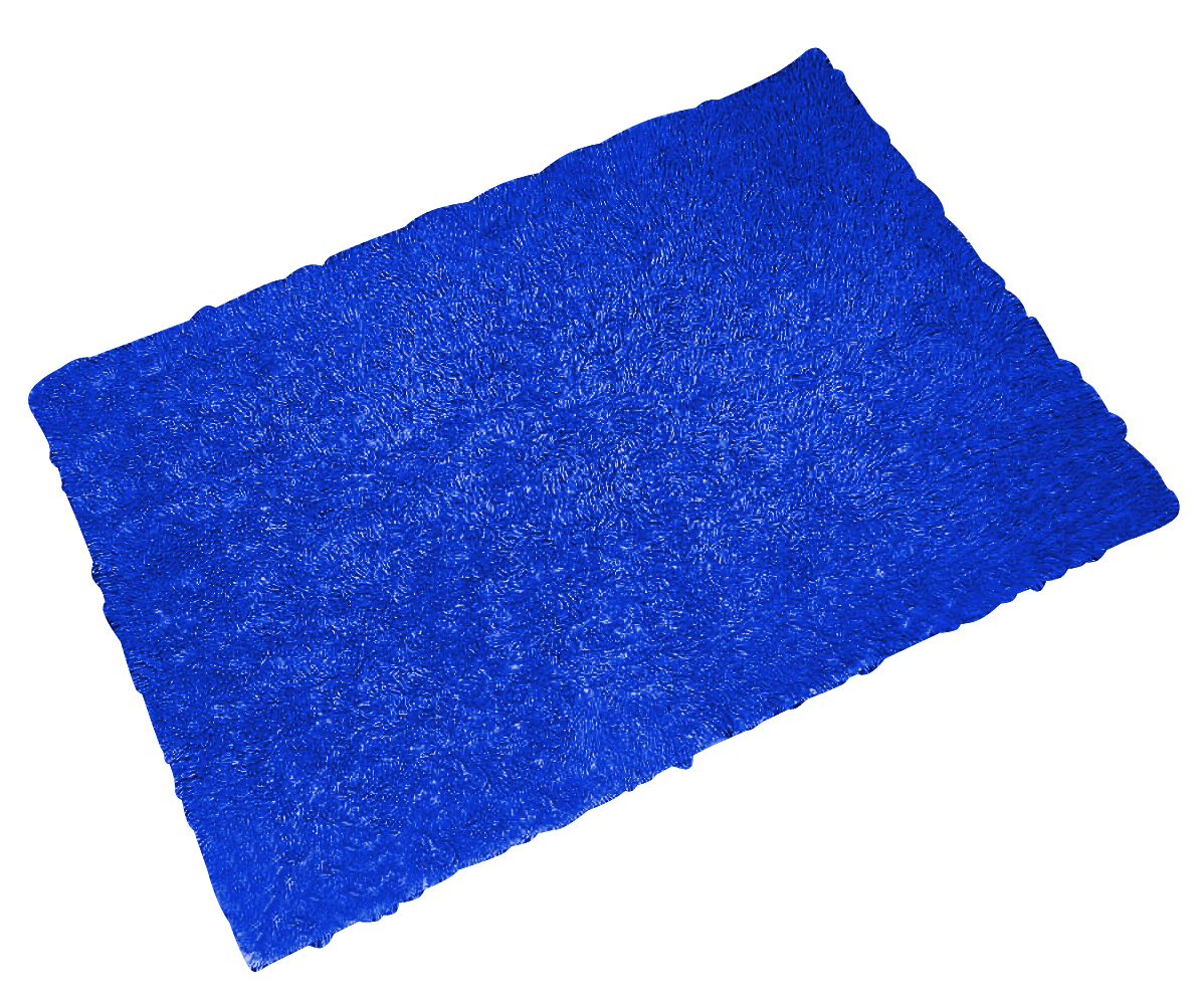Коврик для ванной комнаты Twist Loop синий/голубой