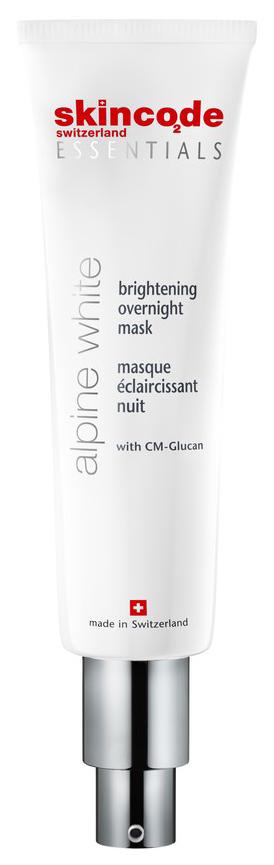 Купить Маска для лица Skincode Essentials Alpine White Brightening Overnight Mask 50 мл