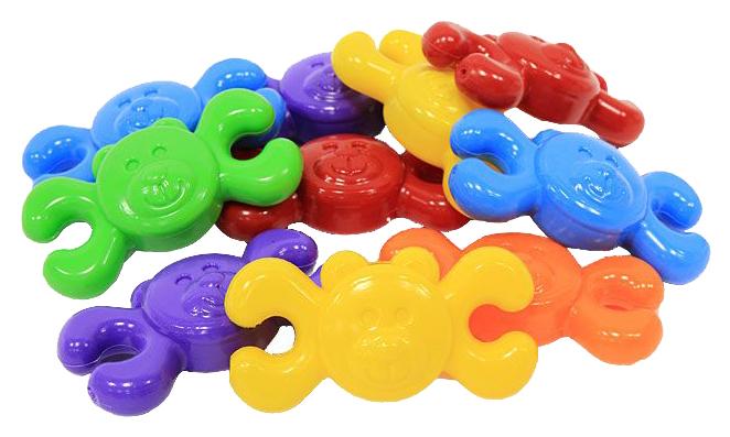 Купить Quercetti Конструктор Мишки из 8 элементов., арт. 4007, Конструкторы пластмассовые
