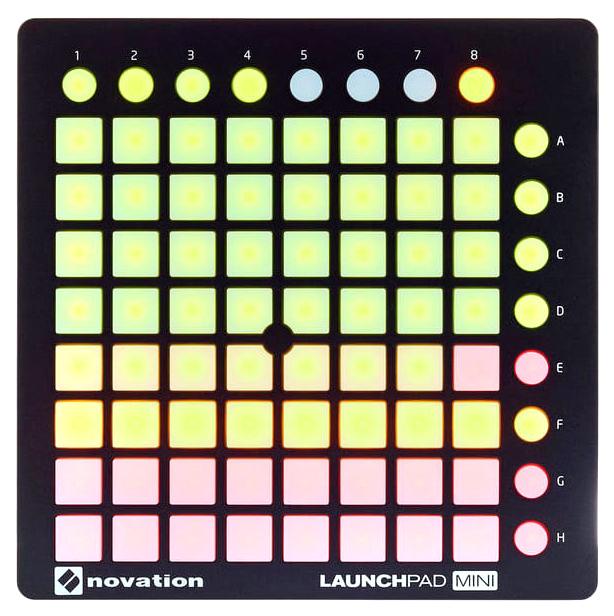 Контроллер для Ableton Live Novation Launchpad Mini MK2 , 64 полноцветных пэда фото