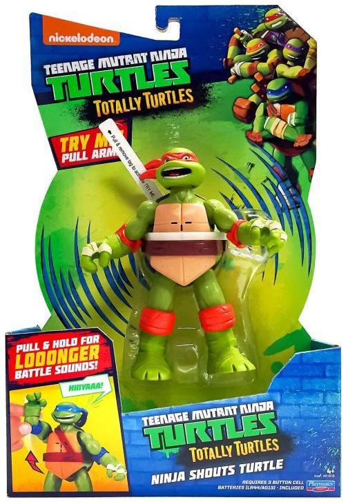 Фигурка Playmates Toys черепашки-ниндзя, 15 см, Майк, клич ниндзя фото
