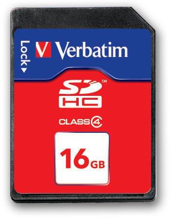 Флеш карта Verbatim SDHC 16GB