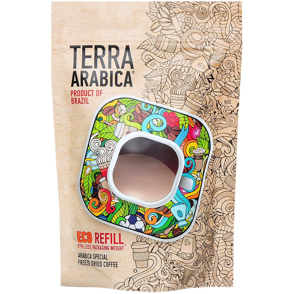Кофе славкофе Фреско терра арабика продакт оф Бразил растворимый 75 г фото