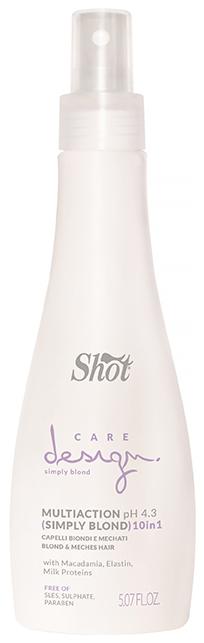 Эликсир Shot многофункциональный для осветленных и мелированных