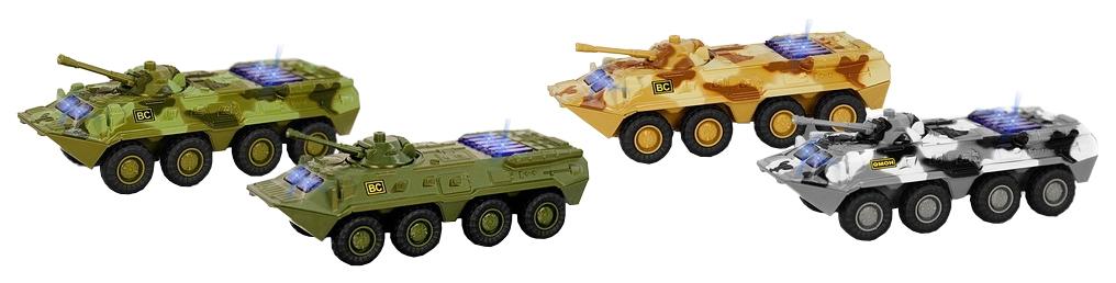 Купить Танк Play Smart инерционный со светом и звуком Р41609, PLAYSMART, Военный транспорт