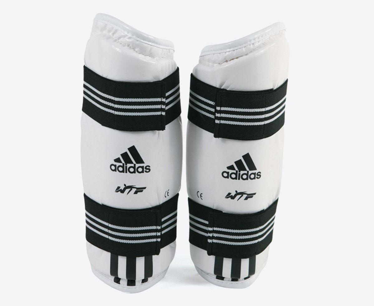 Защита предплечья для тхэквондо Adidas WTF Forearm Protector белая L