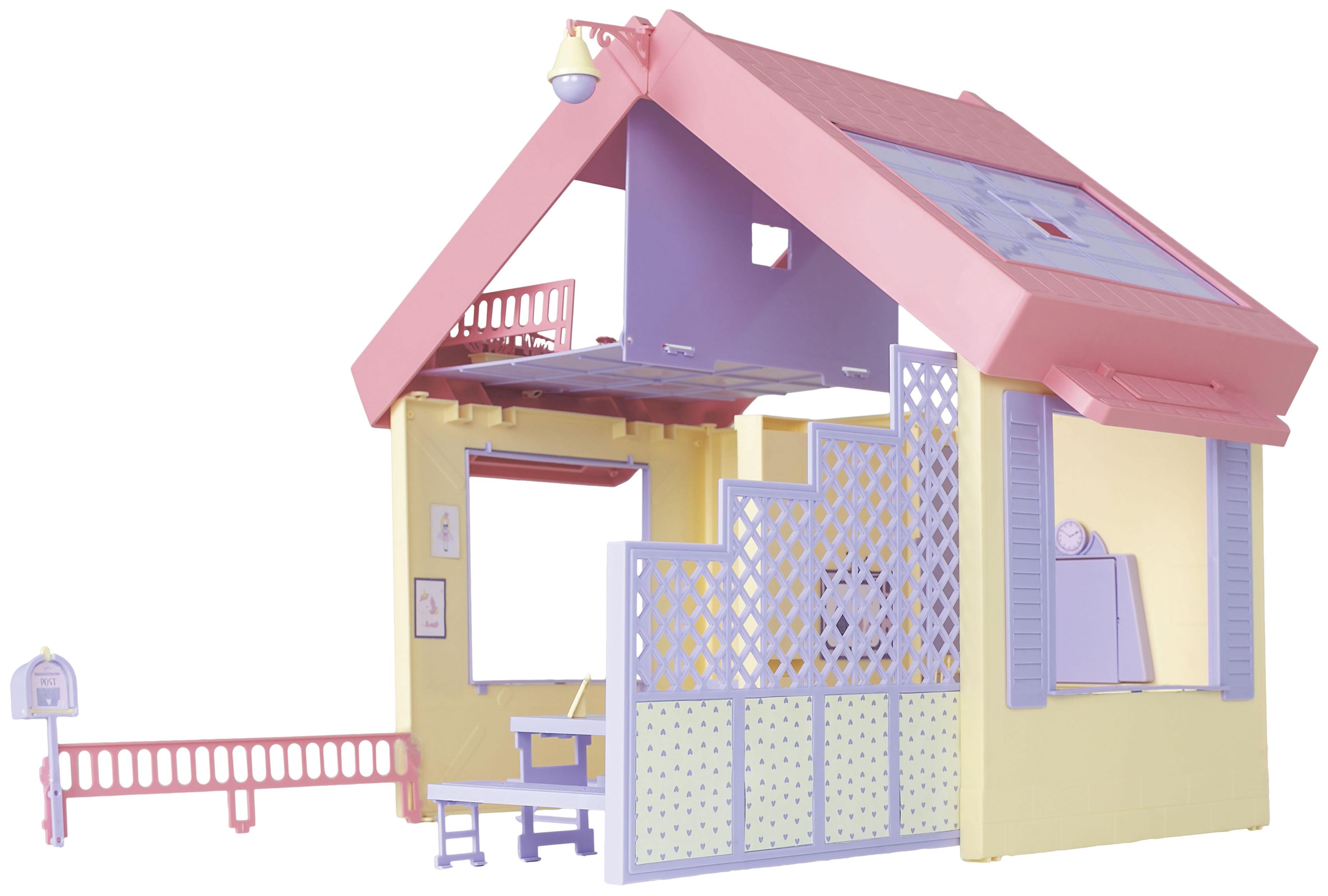 Купить Кукольные домики, Складной дом Огонек Маленькая принцесса