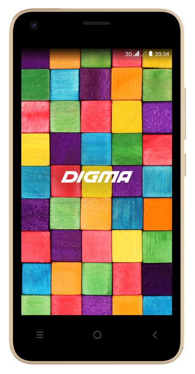 Смартфон Digma Argo 3G Linx 8Gb Gold фото