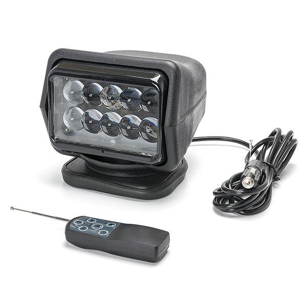 Светодиодный фароискатель прожектор 50 ватт дальнего света поворотный  FI-MB4D-50W spot
