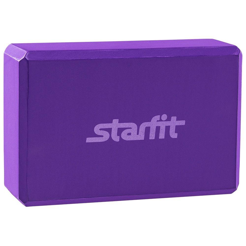 Блок для йоги FA 101 EVA, фиолетовый