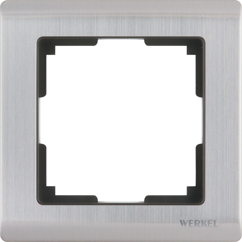 Рамка для выключателя Werkel WL02-Frame-01 a028859 глянцевый никель
