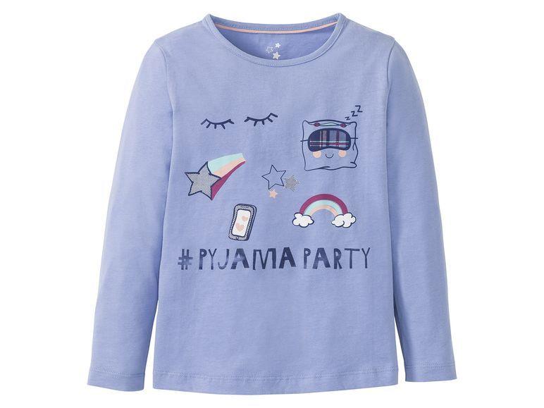 Купить Джемпер для девочки Lupilu голубой р.86-92, Детские джемперы, кардиганы, свитшоты