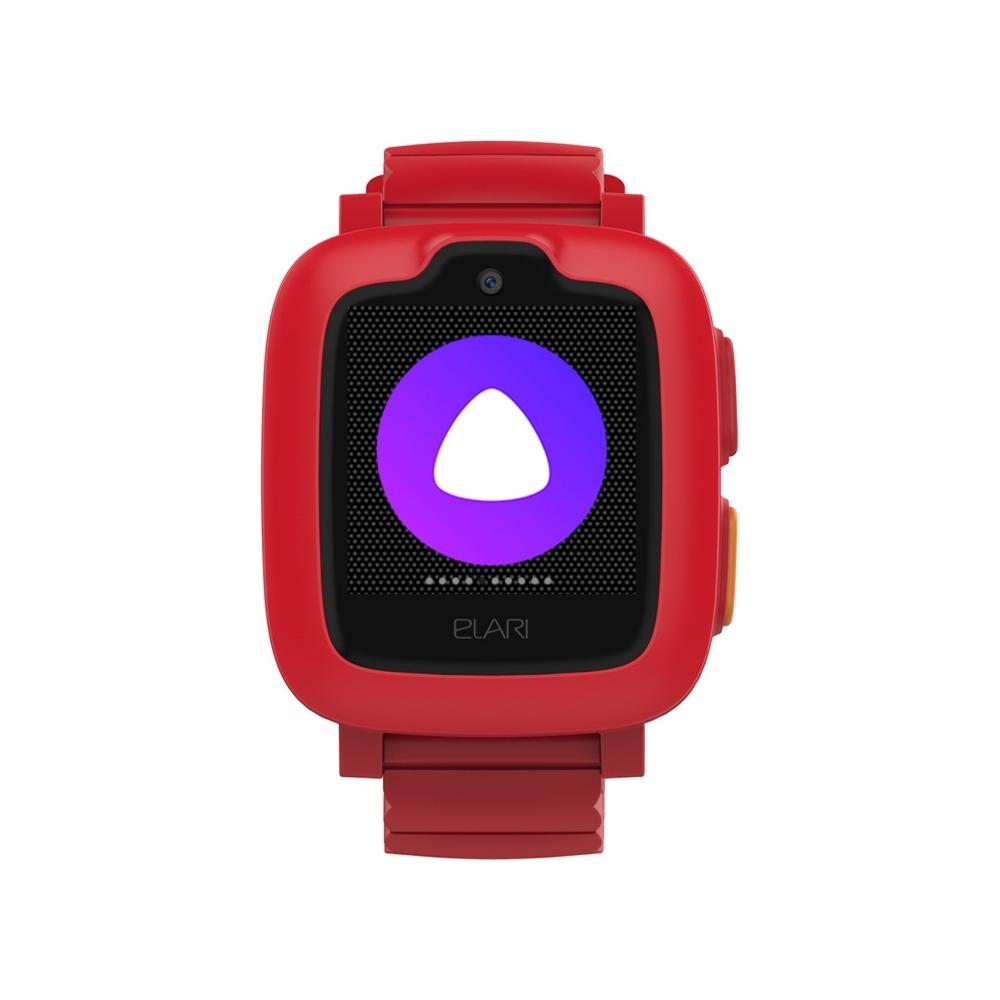 Детские смарт часы ELARI Kidphone 3G Red/Red