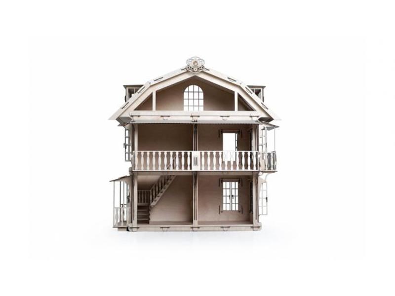 Конструктор деревянный Lemmo Большой дом для кукол