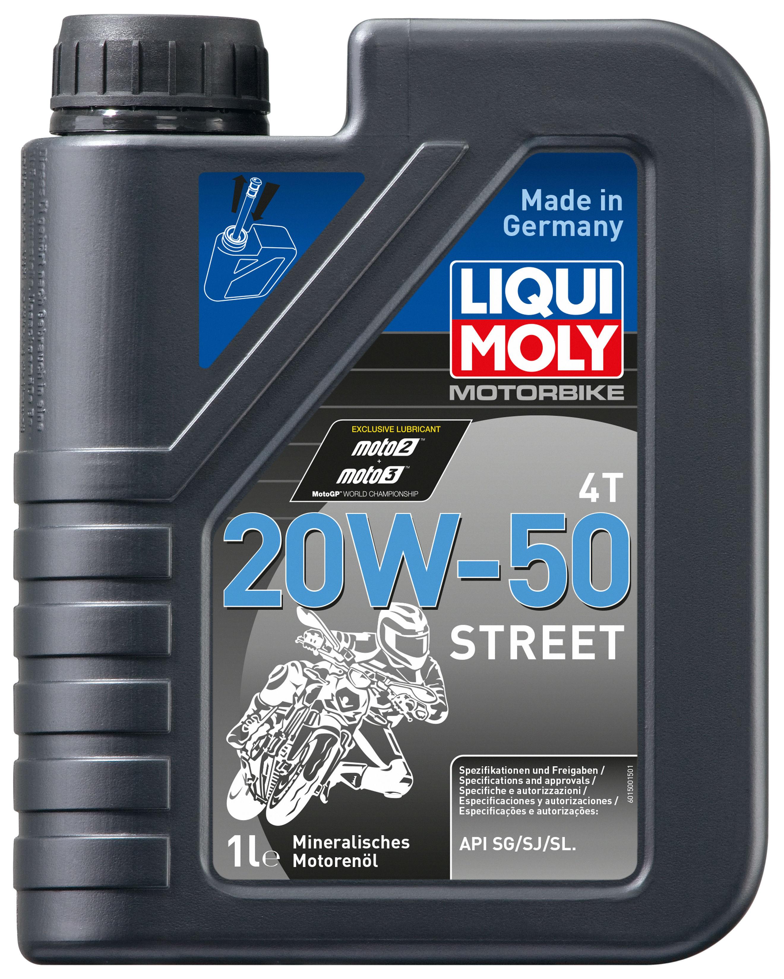 LIQUI MOLY MOTORBIKE 4T STREET