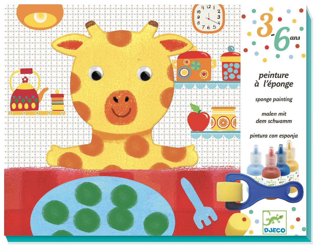 Купить Набор для творчества Djeco Друзья 9880, Наборы для рисования