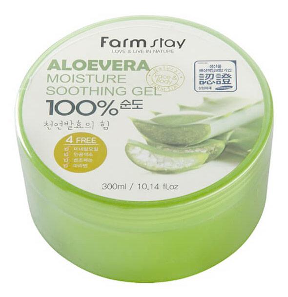 Гель для лица FarmStay Soothing Gel Aloe Vera 300 мл