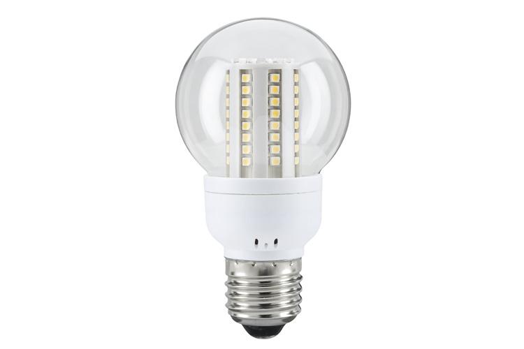 Лампа LED Капля 4W E27 теплый свет 28101