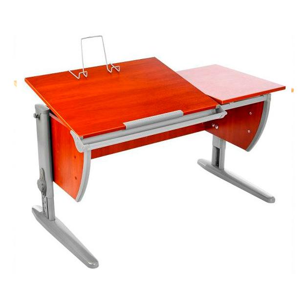 Купить СУТ-17 с раздельной столешницей ЛДСП Яблоня Серый, Парта Дэми 120Х55 см с раздельной столешницей СУТ-17, яблоня, серый, , Школьные парты