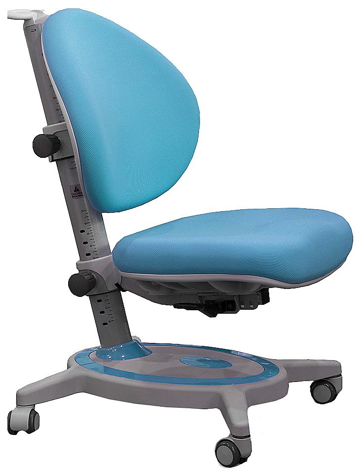 Купить Stanford Высокопрочный пластик Голубой Серый, Детское кресло Mealux Stanford (цвет обивки: голубой, цвет каркаса: серый), Детские стульчики