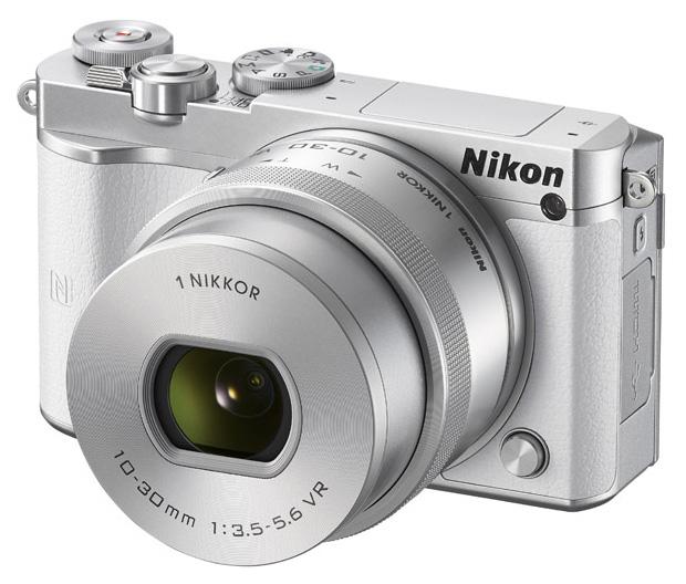 Фотоаппарат системный Nikon 1 J5 Kit White