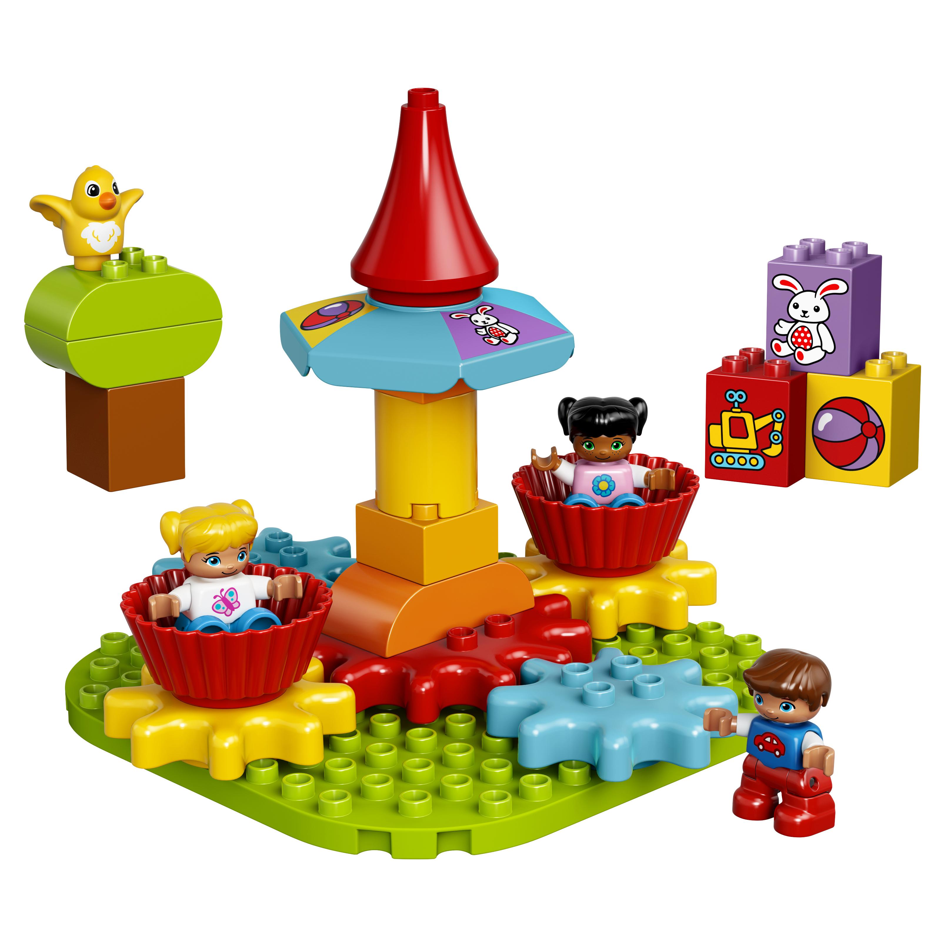 Купить Конструктор lego duplo my first моя первая карусель (10845), Конструктор LEGO Duplo My First Моя первая карусель (10845), LEGO Duplo для девочек
